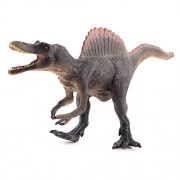 E-Scenery 12 inch Big Plastic Dinosaurs Model Action Figures Science Toys Dinosaur One Size Brown Spinosaurus