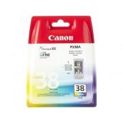 Canon Cartucho de tinta Original CANON CL-38 Color para PIXMA iP1800, iP1900, iP2500, iP2600, MP140, MP190, MP210, MP220, MP470, MX300, MX310