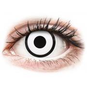 Vision ColourVUE Crazy Lens - White Zombie - sin graduación (2 lentillas)