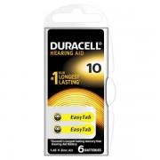DURACELL EASY TAB10 GIALLO - BLISTER 6 BATTERIE DA10-MELDU78