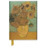 Van Gogh: Sunflowers (Foiled Journal), Paperback
