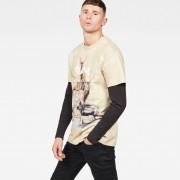 G-Star RAW Cyrer Earth Loose T-Shirt - L