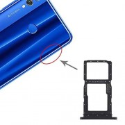 JUNXI Phone La Bandeja de Tarjeta SIM Bandeja de Tarjeta SIM + / Bandeja de Tarjeta Micro SD for Huawei Honor 9X Pro (púrpura) de Alta Calidad (Color : Púrpura)