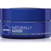 Nivea Naturally Good регенериращ нощен крем с арганово масло 50 мл.