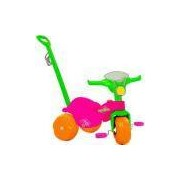 Triciclo Infantil Bandeirante Motoban - Pedal e Passeio - Rosa