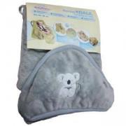 Детско одеяло за столче за кола KOALA 95х95 см. сиво, 0149, Baby MATEX, 5902675043663