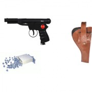 Prijam Air Gun Bc-007 Metal Body 300 Pellets Cover Air Gun Combo Offer