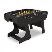 KLARFIT San Siro futbolín plegable dimensiones de torneo palos de madera cojinetes negro (FIT4-San-Siro)