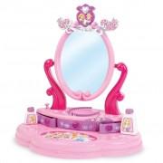 Smoby Disney Princess Dressing Table Top Vanity Mirror Pink 024236