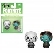 Pint Size Heroes Fortnite - Skull Trooper e Ghoul Trooper 2-Pack Figure Pint Size Heroes