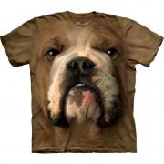 The Mountain Brown Bulldog Face shirt The Mountain