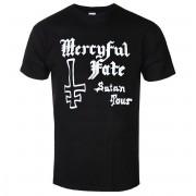 tricou stil metal bărbați Mercyful Fate - SATAN TOUR 1982 - PLASTIC HEAD - PH11806