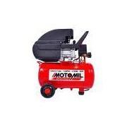 Moto Compressor de Ar 8,7 Pcm 24L Cmi-8,7/24 Motomil Bivolt