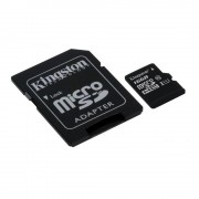 Kingston MicroSDHC 16GB, Class 10, UHS-1, SD adapterrel