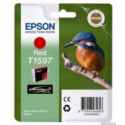 EPSON Red Inkjet Cartridge T1597 for Stylus Photo R2000 (C13T15974010)