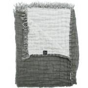 Himla Filt Hannelin Limited 130x170 cm, Charcoal/White (Grå/Vit)
