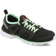 Reebok AMAZE RUN Running Shoes For Women(Black, Green, White)