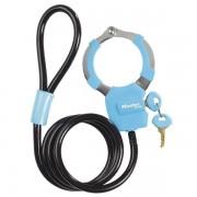 Bezpečnostní pouta na kolo Master Lock 8275EURDPRO - modré