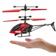 AKSHATA Induction Type Hand Sensor Flying Helicopter for Kids