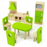 Wooden Wonders Eat-In Kitchen and Dining Room Set