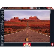 Educa Monument Valley Road Puzzle (1500 Piece), One Color
