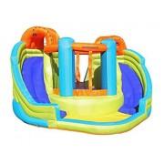 Sportspower Double Slide & Bounce Inflatable Water Slide