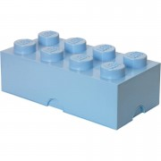 Lego Storage Brick 8 - Light Blue