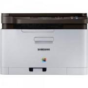 Лазерно многофункционално устройство Samsung SL-C480W A4 Wireless Color Laser MFU - SL-C480W/SEE, SS257C