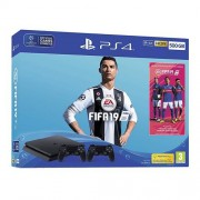 Konzola PlayStation PS4 500GB + PS4 DualShock Crni + Fifa 19