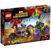 Lego Klocki konstrukcyjne Marvel Super Heroes Hulk kontra Czerwony Hulk 76078