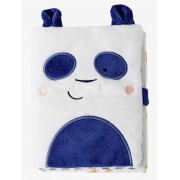 VERTBAUDET Álbum de fotografias, Panda azul medio liso com motivo