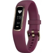 Bratara fitness Garmin Vivosmart 4, Small/Medium, Bluetooth (Rosu inchis)