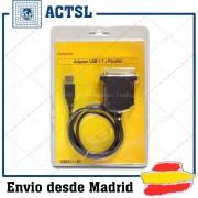 Adaptador Cable USB a Paralelo