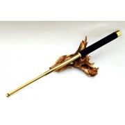 Baston telescopic Editie Gold, cu maner burete