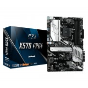 MB ASRock X570 Pro 4, AM4, ATX, 4x DDR4, AMD X570, DP, HDMI, 36mj (90-MXBAT0-A0UAYZ)