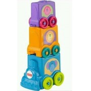 Fisher-Price Growing Baby Stack & Roll Choo-Choo by Mattel