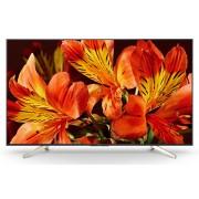Televizor LED Sony BRAVIA KD65XF8505, 165 cm, Ultra HD 4K, Smart TV, X-Reality™ PRO 4K, Android TV, Clasa energetica A+, Negru/Argintiu