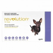 Revolution Very Small Dogs 5.1-10 Lbs (Purple) 6 Doses