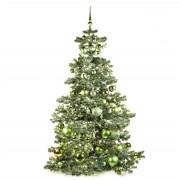 Xmasdeco Kunstkerstboom groen verfrissend 210cm