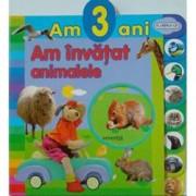 Am 3 ani. Am invatat animalele