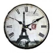 Wandklok Paris I