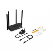 Wavlink WN521R2P 300Mbps Router Wifi 4x5dBi Wifi App Control Repeater Negro