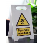 Indicator cu Semnul Semn tip A - Pericol de Impiedicare Best View