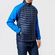 The North Face Men's Thermoball Sport Hooded Jacket - Turkish Sea/Urban Navy - L - Blue