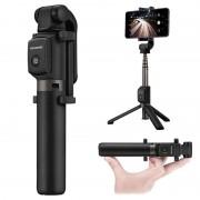 Selfie stick Bluetooth %26 tripé 55030005 Huawei AF15 - Preto