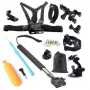 Tigerone 27-en-1 kit de la camara accesorios deportivos para GoPro Hero 3/3 + / 4