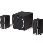 Звукова система Edifier XM6PF, 2.1, 24W, FM Radio, Черна, XM6PF