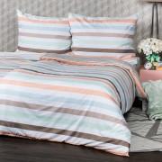 Lenjerie de pat 4Home Pastel Stripes, micro, 160 x 200 cm, 70 x 80 cm