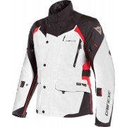 Dainese X-Tourer D-Dry Motorcycle Textile Jacket Black White Red 48
