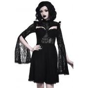 šaty dámské KILLSTAR - Aurelia Maiden - BLACK - KSRA001662